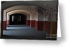 San Francisco Fort Point 5D21543 Greeting Card by Wingsdomain Art and Photography