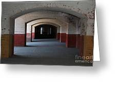 San Francisco Fort Point 5d21544 Greeting Card by Wingsdomain Art and Photography