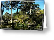 San Francisco Golden Gate Park Japanese Tea Garden 11 Greeting Card by Robert Santuci