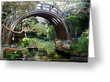 San Francisco Golden Gate Park Japanese Tea Garden 4 Greeting Card by Robert Santuci