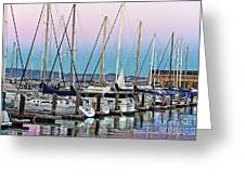 San Francisco Harbor At Pier 39 Greeting Card by Artist and Photographer Laura Wrede