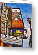San Francisco - North Beach - 04 Greeting Card by Gregory Dyer