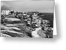 San Juan Coast Greeting Card by John Rizzuto