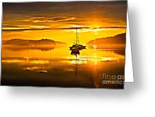 San Juan Sunrise Greeting Card by Robert Bales