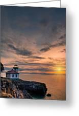 San Juan Sunset Greeting Card by Dan Mihai