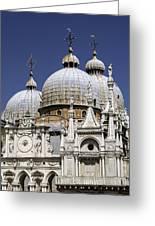 San Marco Basilica. Greeting Card by Fernando Barozza