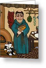 San Pascual Greeting Card by Victoria De Almeida