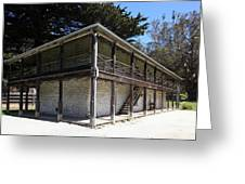 Sanchez Adobe Pacifica California 5d22642 Greeting Card by Wingsdomain Art and Photography