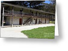 Sanchez Adobe Pacifica California 5d22643 Greeting Card by Wingsdomain Art and Photography