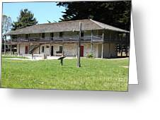 Sanchez Adobe Pacifica California 5d22650 Greeting Card by Wingsdomain Art and Photography
