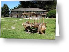 Sanchez Adobe Pacifica California 5d22653 Greeting Card by Wingsdomain Art and Photography