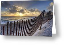 Sand Dunes   Greeting Card by Debra and Dave Vanderlaan