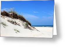 Sand Dunes Of Corolla Outer Banks Obx Greeting Card by Design Turnpike