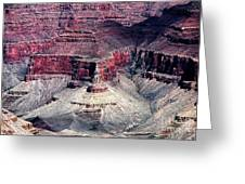 Sand Patterns In The Canyon Greeting Card by John Rizzuto