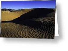 Sand Ripples Greeting Card by Chad Dutson