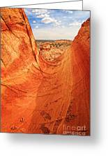 Sandstone Bowl Greeting Card by Inge Johnsson