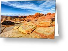 Sandstone Wonders Greeting Card by Chad Dutson