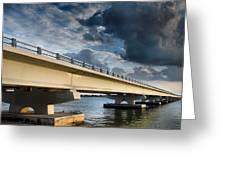 Sanibel Causeway I Greeting Card by Steven Ainsworth