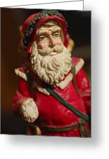 Santa Claus - Antique Ornament - 21 Greeting Card by Jill Reger