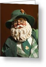 Santa Claus - Antique Ornament - 23 Greeting Card by Jill Reger