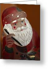 Santa Claus - Antique Ornament - 24 Greeting Card by Jill Reger