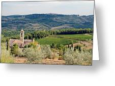 Santa Maria Novella priory Tuscany Greeting Card by Mathew Lodge