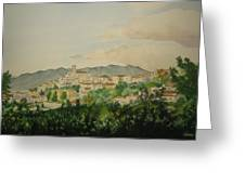 Sant'ambrogio Greeting Card by Jeff Lucas