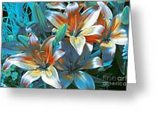 Satin Greeting Card by Kathleen Struckle