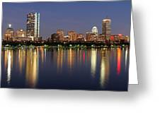 Saturday Night Live In Beantown Greeting Card by Juergen Roth