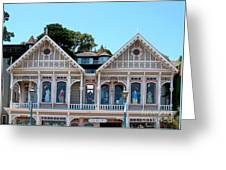 Sausalito Boutique Greeting Card by Connie Fox