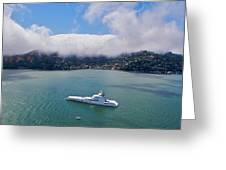 Sausalito Skyline Greeting Card by Steven Lapkin