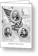 Saviours Of Our Country  Greeting Card by War Is Hell Store