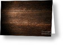 Saw Marks On Wood Greeting Card by Olivier Le Queinec