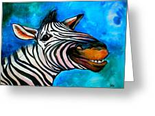Say Cheese Greeting Card by Debi Starr