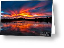 Scenic Marine Sunrise Greeting Card by Robert Bales