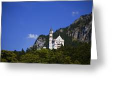Schloss Neuschwanstein Greeting Card by Joanna Madloch