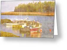 Schoodic Peninsula Maine Greeting Card by Carol Leigh