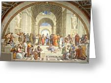 School Of Athens Greeting Card by Raphael
