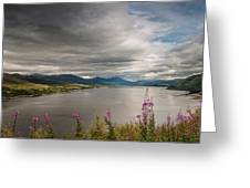 Scotland's Landscape Greeting Card by Sergey Simanovsky