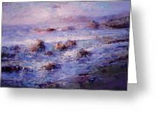 Sea Breeze Greeting Card by R W Goetting
