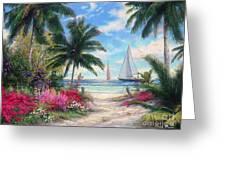 Sea Breeze Trail Greeting Card by Chuck Pinson