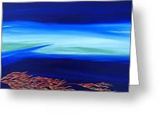 Sea Dragon Greeting Card by Robert Nickologianis