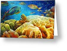 Sea Escape I -27x40 Greeting Card by Nancy Tilles