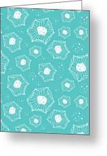 Sea Flower Greeting Card by Susan Claire