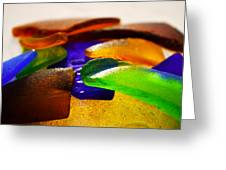 Sea Glass IIi Greeting Card by Sherry Allen
