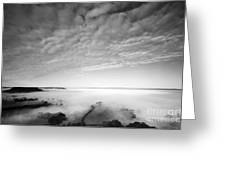 Sea Of Fog Greeting Card by Anne Gilbert