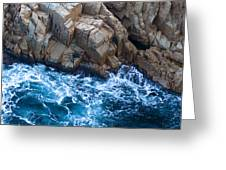 Sea Rocks Greeting Card by Frank Tschakert