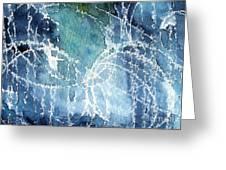 Sea Spray Greeting Card by Linda Woods