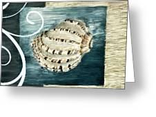 Sea Treasure Greeting Card by Lourry Legarde