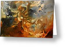 'searching For Chaos' Greeting Card by Michael Lang